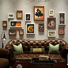 15 Pcs Collage Photo Frame Wandbehang Art