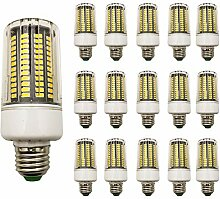 15 Stück 18W E27 LED Mais Birne Beleuchtung