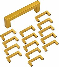 15 Stück Goldenwarm Kommoden Griff Rustikale