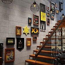 15-teiliges Bilderrahmen-Set, Wanddekorkombination