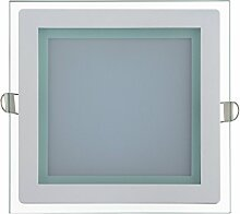 15 Watt Glas Design LED Panel mit Glas Rahmen