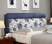 150 * 60cm Bett weichen Paket Bedside Kissen Doppelbett weichen Paket Bedside Rückenlehne Kissen Bett Abdeckung ( Farbe : # 3 )