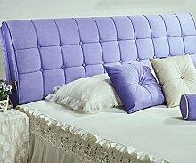 150 * 63cm Bett weichen Paket Bedside Kissen Doppelbett weichen Paket Bedside Rückenlehne Kissen Bettbezug ( Farbe : # 6 )
