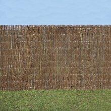150 cm x 400 cm Gartenzaun Swingle aus