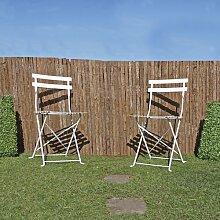 150 cm x 400 cm Gartenzaun Swisher aus