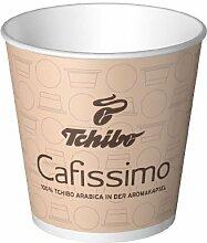 150 Tchibo Cafissimo Espressobecher aus Papier, 100ml