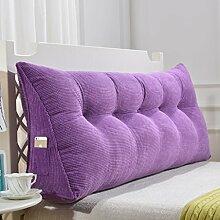 150cm Dreieck-Kissen-Matten-Kissen-doppeltes Bett-weiches Beutel-Bett-Kissen-Bett-Rückseiten-entfernbares ( Farbe : # 5 )