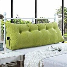 150X25X50cm Dreieck-Kissen-Matten-Kissen-doppeltes Bett-weiches Beutel-Bett-Kissen-Bett-Rückseiten-entfernbar ( Farbe : # 4 )