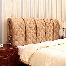 155 * 60cm Bedside Großes Kissen Anti-Kollisions-Bett-Kopf-weiches Paket-Bett-Kopf-Abdeckungs-Bett-langes Kissen kann entfernt und gewaschen werden ( Farbe : # 3 )