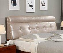 155 * 60cm Bett weichen Paket Bedside Kissen Doppelbett weichen Paket Bedside Rückenlehne Kissen Bettbezug ( Farbe : # 5 )