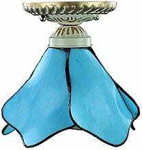 15cm E27 Mediterranean Tiffany Deckenleuchten für