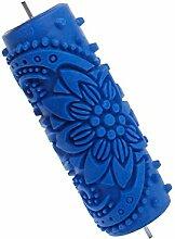 15cm Rollen Blume geprägte Malerei Roller Tool