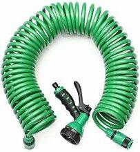 15M EVA Spiralspiralrohr Stretch Gartenschlauch