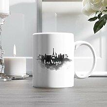 15oz Ceramic Coffee Mug, Las Vegas City Skyline