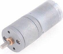 15RPM 4mm Schaft Dia Electric Power Getriebe Geared Motor 12VDC