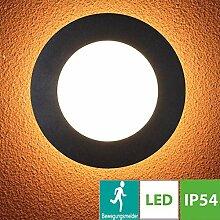 15W LED Aussenleuchte Rund, Außenlampe mit