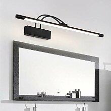 15W LED Schwarz Spiegellampe 240 ° einstellbar