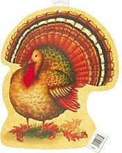 16.5 Paper Cut Out Festive Turkey Thanksgiving