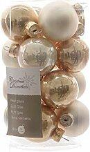 16 Christbaumkugeln Weihnachtskugeln Mix