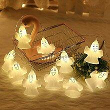 16 LED Ghost Fairy Lights, batteriebetrieben,