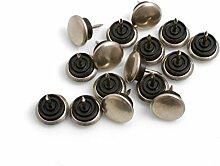 16 Möbelgleiter Stuhlgleiter Bodenschutz 20mm mit Nagel von Design61