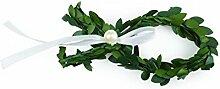 16 Myrtenfische zum Streuen Kommunion Kunstblumen , grün ca. B:10cm/GL:3,5cm