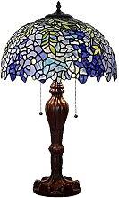 16 RRB Stil Tischlampe Buntglas Lampenschirm