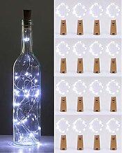 (16 Stück) Flaschenlicht Batterie, kolpop