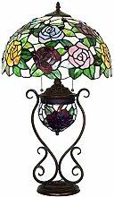 16 Zoll Tiffany Style Bunt Glastisch Lampen