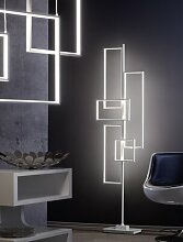 161 cm LED-Stehlampe Keeva