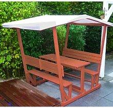 166 cm x 119 cm Pavillon aus Holz WFX Utility