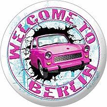 (16815-Magnet) Magnet - Welcome to Berlin - Gr.