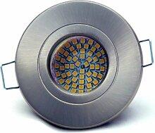16er Set Bad Einbaustrahler Delfi 230V IP54 Farbe