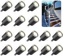16PCS LED Einbaustrahler, ONLT Terrassen