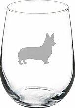 17Oz Weinglas Weingläser ohne Stiel Corgi