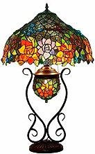 17 Zoll Tiffany Style Bunt Glastisch Lampen