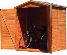 174 cm x 82 cm Fahrradgarage Bergamo aus