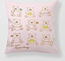 18 Cushion Cover Shower Bear Throws For Sofa