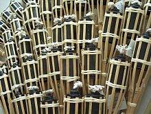 18 Gartenfackel Bambusfackel Öllampen Fackeln
