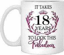 18. Geburtstagsgeschenk Für Frauen-Es Dauert 18