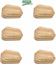 18 Stück Frühstücksbrett Frühstücksbrettchen