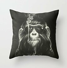 18 X 18 Inches / 45 By 45 Cm Animal Throw Pillow Case ,two Sides Ornament And Gift To Wedding,dance Room,seat,couples,monther,chair
