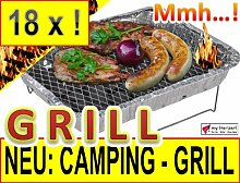 18 x CAMPING WOHNMOBIL OUTDOOR - Grillstation