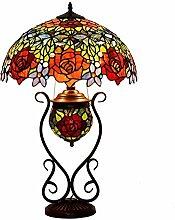 18 Zoll Tiffany Stil Bunt Glastisch Lampen