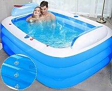 180 cm Rechteckiges Aufblasbares Schwimmbad
