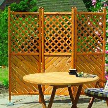 180 cm x 180 cm Balkonsichtschutz Garten Living