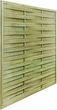 180 cm x 180 cm Gartenzaun Elston aus Holz Garten