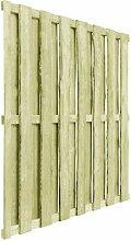 180 cm x 180 cm Gartenzaun Judson aus Holz Garten