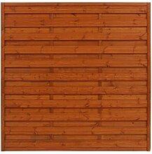 180 cm x 180 cm Gartenzaun Otsego aus Holz (Set of