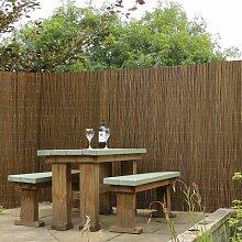 180 x 400 cm Gartenzaun Thiel aus